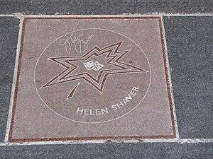 Helen Shaver - Helen Shaver's star on Canada's Walk of Fame
