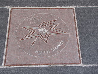 Helen Shaver - Helen Shaver's star on Canada's Walk of Fame