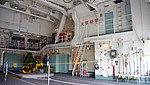 Helicopter hangar of JS Fuyuzuki(DD-118) inside view at JMSDF Maizuru Naval Base July 27, 2014 07.jpg