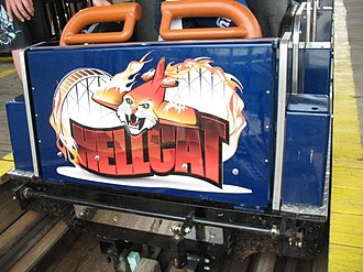 Hell Cat (roller coaster) - Image: Hell Cat