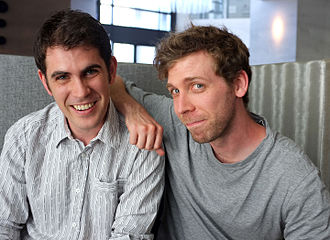 Hello Games - Co-founders Sean Murray (left) and Grant Duncan