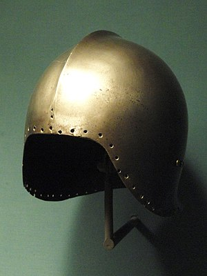 Sallet - Typical light Italian celata (sallet) of the later 15th century