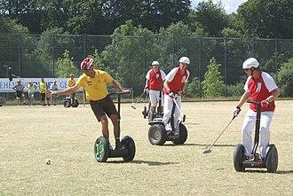 Segway polo - European Polo Championship  2010 in Hemer