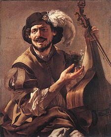 Hendrick ter Brugghen - A Laughing Bravo with a Bass Viol and a Glass - WGA22173.jpg