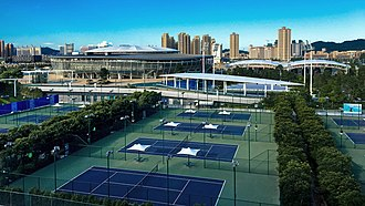 Hengqin International Tennis Center - Image: Hengqin Tennis Center, Zhuhai (cropped)