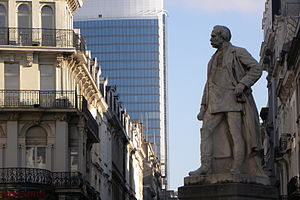 Henri Alexis Brialmont - Statue of Brialmont in central Brussels