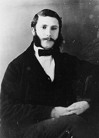 Henry Dunant - Henry Dunant in 1855