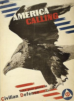 Herbert Matter - World War II poster by Herbert Matter