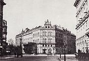 Hertel Kaiserplatz von Osten um 1880