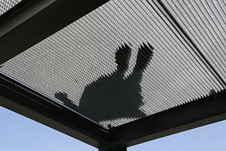 Expanded metal - Expanded metal can be used for a walkway grating that is self-draining and non-slip