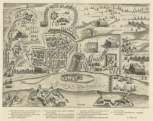 Het beleg van Zutphen (1591) door Prins Maurits - The siege of Zutphen in 1591 by Prince Maurice (Bartholomeus Willemsz. Dolendo)