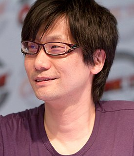 Hideo Kojima Japanese video game designer