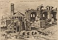 Hieronymus Cock, The Temple of Augustus and Faustina, the Temple of Divus Romulus, and the Basilica of Constantine, probably 1550, NGA 91344.jpg