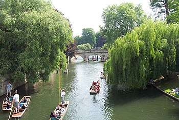 English: High summer on the Cam. At the height...