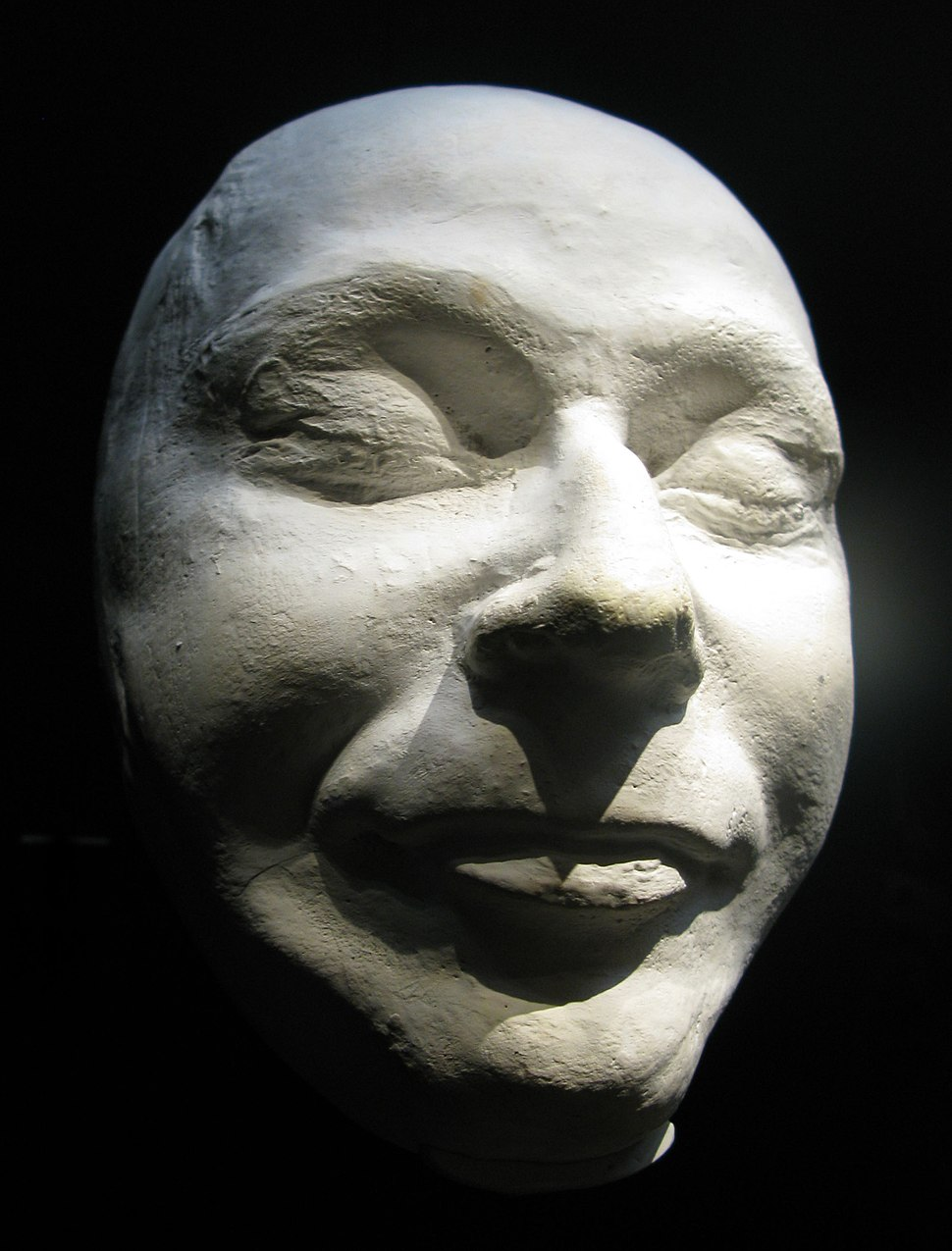 Himmler-death-mask