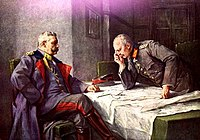 The Generals Hindenburg and Ludendorff, determining German policies since 1915, reject a peace through rapprochement.