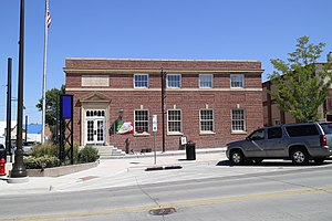 National Register of Historic Places listings in Campbell County, Wyoming - Image: Historical Gillette Post Office
