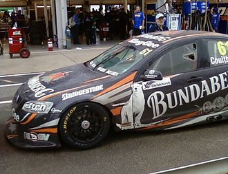 Bundaberg Rum - Walkinshaw Racing Holden Commodore VE of Fabian Coulthard at the 2011 Clipsal 500 Adelaide