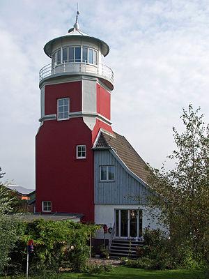 Wewelsfleth - Image: Hollerwettern alter Leuchtturm