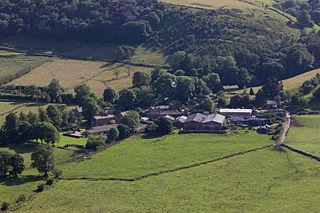 Hollinsclough Human settlement in England