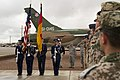 Holloman AFB Honor Guard present the colors at the unveiling ceremony for a Tornado in Heritage Park.jpg