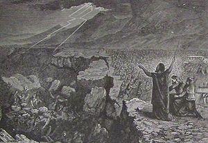 Holman Destruction of Korah Dathan and Abiram