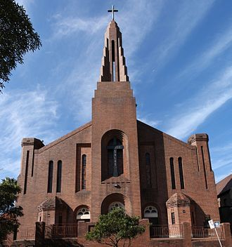 Woollahra, New South Wales - Image: Holy Cross Church Woollahra