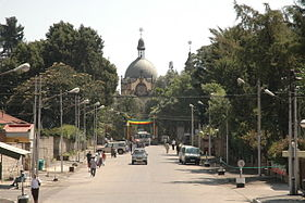 Image illustrative de l'article Cathédrale de la Sainte-Trinité d'Addis Abeba