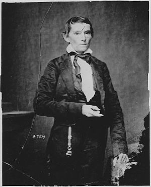 Hampton Roads Conference - CSA Vice President Alexander Stephens had been trying to end the war since 1863.