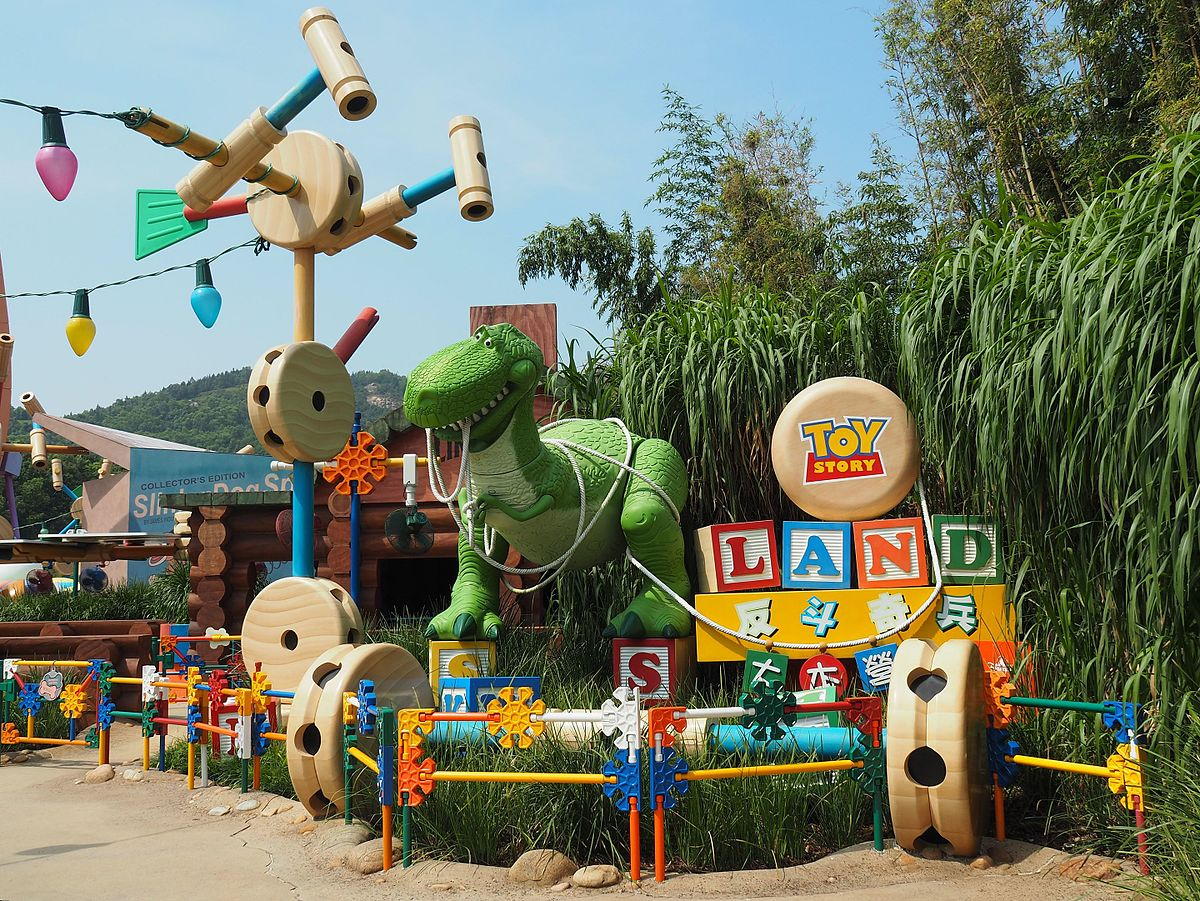 toy story playland wikipedia