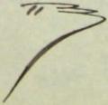 Honoré mercier signature.png