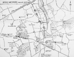 Capture of Westhoek - Gheluvelt Plateau: Inverness Copse, Westhoek and Glencorse Wood