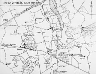 Gheluvelt Plateau actions, July–August 1917