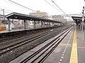 Hoshikawa station temporary platforms.jpg