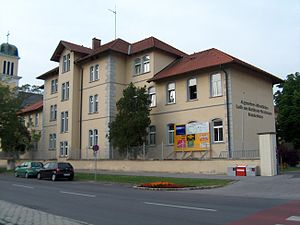 László Batthyány-Strattmann - Hospital in Kittsee, Austria, named after Batthyány-Strattmann