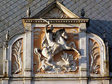 Hotel George in Lviv (relief of Saint George).jpg