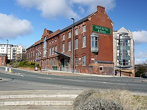 Tyne Tees Steam Shipping Company - Hotel du Vin, City Road Converted in 2007-8 from the Tyne-Tees Steam Shipping Company offices of 1908 (commonly known as Allan House)