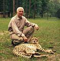 Howard Gilman with a Cheetah.jpg