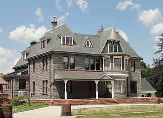 Hoyt-Shedd Estate - Image: Hoyt Shedd Estates, Lowell, MA DSC00084