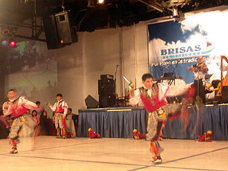Huancavelica Region - Scissors Dancers in a regional dance