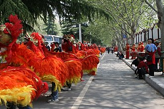 Xinzheng - Yellow Emperor Celebrations on the streets of Henan