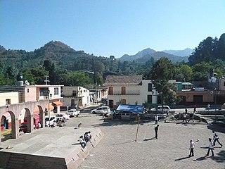 Hueyapan human settlement in Mexico