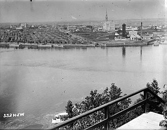 Hull, Quebec - Hull from Ottawa, 1896