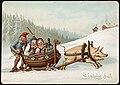 Humoristisk julemotiv tegnet av Wilhelm Larsen (24207677458).jpg