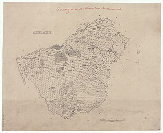 Hundred of Adelaide - Plan of the Hundred of Adelaide, 1873
