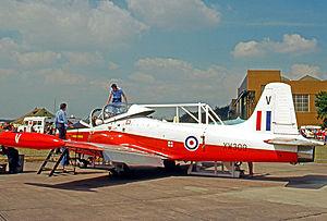 No. 6 Flying Training School RAF - Operational Jet Provost T.5 of No.6 Flying Training School in 1977