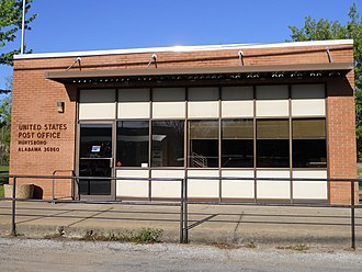 Hurtsboro, Alabama - Image: Hurtsboro Alabama Post Office