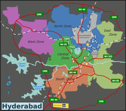 Greater Hyderabad Zones - Miyapur