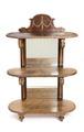 Hylla med spegel, 1893 - Hallwylska museet - 108489.tif
