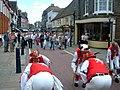 """Hythe Festival - """"East Kent Morris Men"""" - geograph.org.uk - 2292352.jpg"""